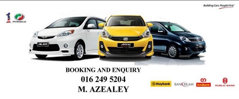 Perodua Alza, Myvi, Axia Promosi 2014!!