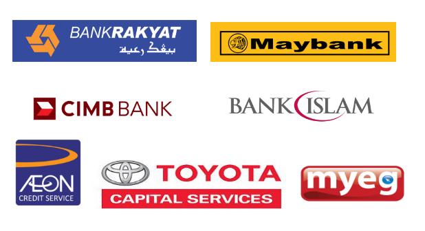 Urusan Mudah dengan Panel Bank Kami.